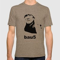 bau5 Mens Fitted Tee Tri-Coffee SMALL