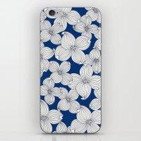 Dogwood Q: Surf Blue Ivo… iPhone & iPod Skin