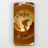 iPhone & iPod Skin featuring Far North. Owl (Grand Nord. Chouette) by Anastassia Elias