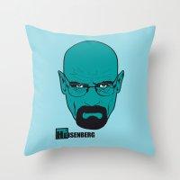 The Chemist Throw Pillow