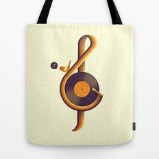 Retro Sound Tote Bag
