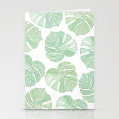 Summer Palms Stationery Cards