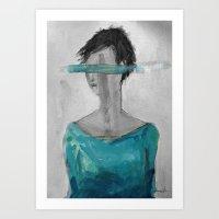 M. Wonderwall Art Print