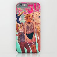 iPhone Cases featuring Die Young by Galvanise The Dog