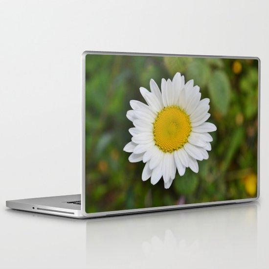 Daisy, Pure & Simple Laptop & iPad Skin