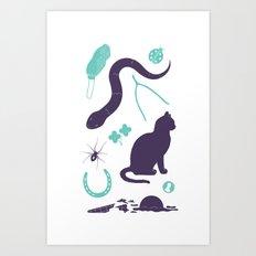 Good Luck / Bad Luck Art Print