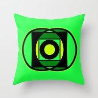 The Lantern's Glow Throw Pillow