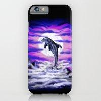 Moonlight-Dolphin iPhone 6 Slim Case