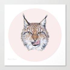 Lynx Lynx portrait Canvas Print