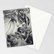 Another Castle :: Duotone Print Stationery Cards