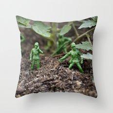 Army Dudes Throw Pillow