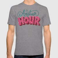 Amateur Hour Mens Fitted Tee Tri-Grey SMALL