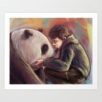 Sweet Giant Art Print