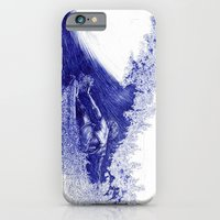 Surf in Ink iPhone 6 Slim Case