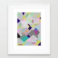 FUNDERLAND  Framed Art Print