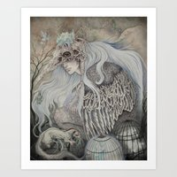 Time in Captivity Art Print