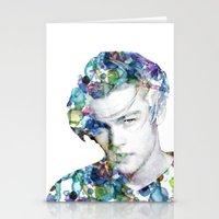 Young Leonardo DiCaprio  Stationery Cards