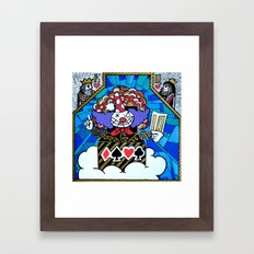 Joke In The Box Framed Art Print