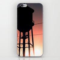 Water Tower iPhone & iPod Skin