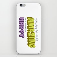Everything's Amazing and Nobody's Happy iPhone & iPod Skin