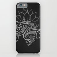 iPhone & iPod Case featuring white on black by Rinneko