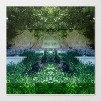 13-05-15 (NOLA Yard Glit… Canvas Print