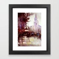Paris atmospheric #5 Framed Art Print