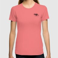 Cloud Womens Fitted Tee Pomegranate SMALL