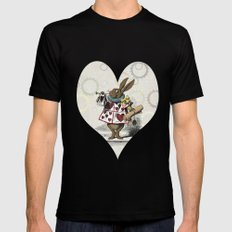 The Hare Mens Fitted Tee Black SMALL