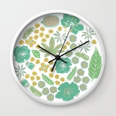 Floral Bloom  Wall Clock