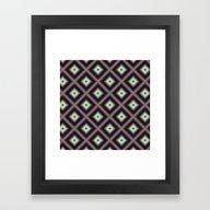 Starry Tiles In AtBMAP 0… Framed Art Print