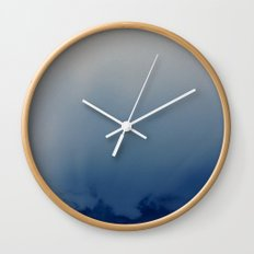 Minnehaha Blue Wall Clock