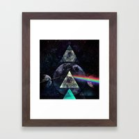 LYYT SYYD ºF TH' MYYN Framed Art Print