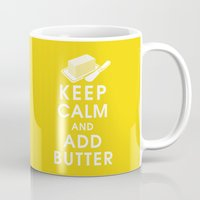 Keep Calm and Add Butter Mug