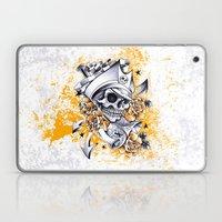 Pirate Skull Laptop & iPad Skin
