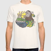 Conscious State Of Dreaming Mens Fitted Tee Natural SMALL