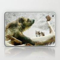 Bear, Squirrel and Kitten Laptop & iPad Skin