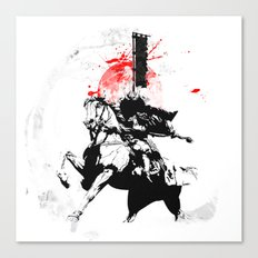 Samurai Japan Canvas Print