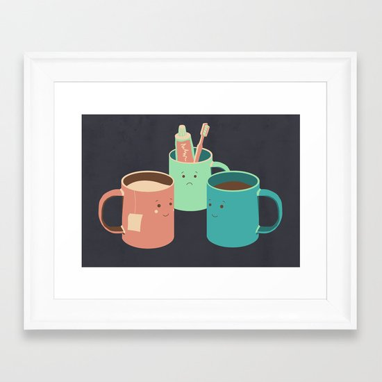 Mugs Framed Art Print