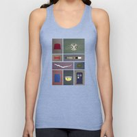Eleven (Doctor Who) Colors Unisex Tank Top