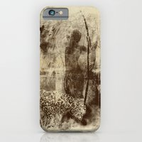 iPhone & iPod Case featuring paleo warrior by frederic levy-hadida