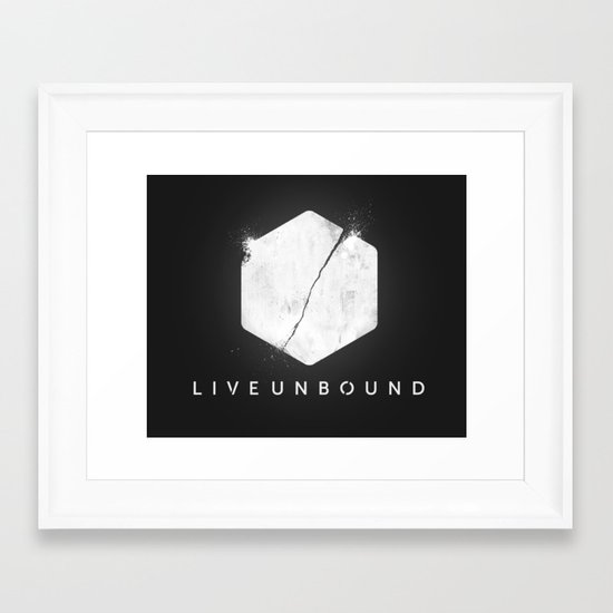 The Logo Framed Art Print