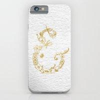 Gold Leaf Floral Ampersa… iPhone 6 Slim Case