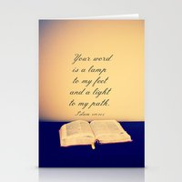 Bible  Stationery Cards
