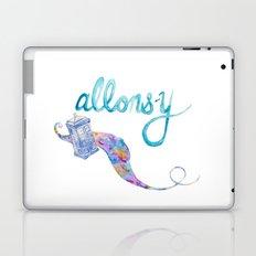 allons-y Laptop & iPad Skin