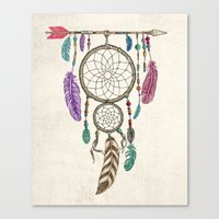 Big Dream Catcher Canvas Print