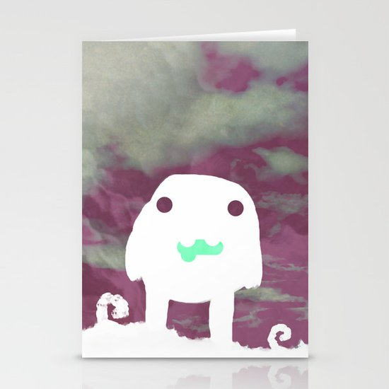 In A Dream Stationery Card