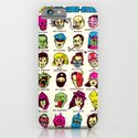 The League of Cliché Evil Super-Villains iPhone & iPod Case