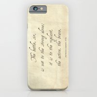 The Battle by Patrick Henry iPhone 6 Slim Case