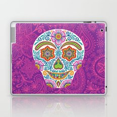 Flower Power Skully Laptop & iPad Skin